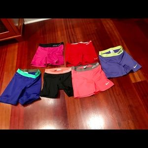 Nike compression shorts 5 inch